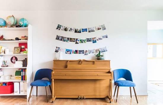 Budget Friendly String Photo Wall Ideas