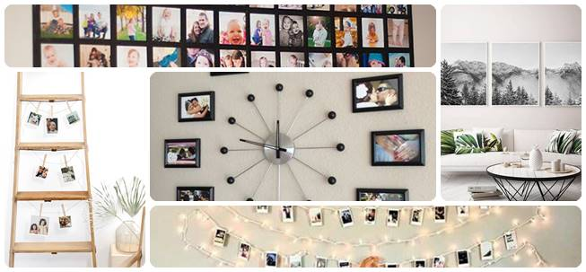 Budget friendly Photo Wall Ideas