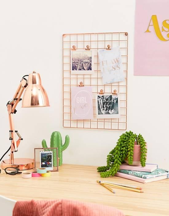 DIY Grid Photo Wall