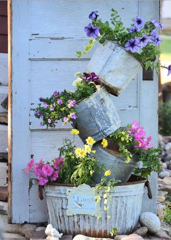 Tipsy Pot Planter Garden Tower