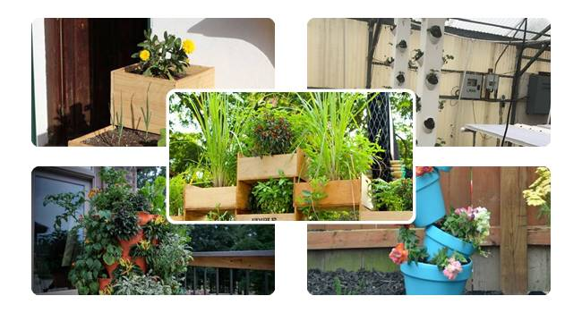 DIY Garden Tower | Awe-inspiring Tower Garden Ideas