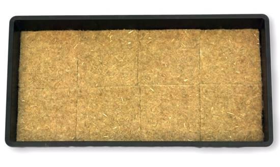 Hemp mats for microgreens