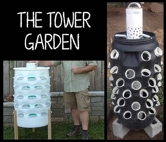 Barrel Garden Tower