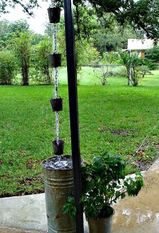 Bucket Rain Chain