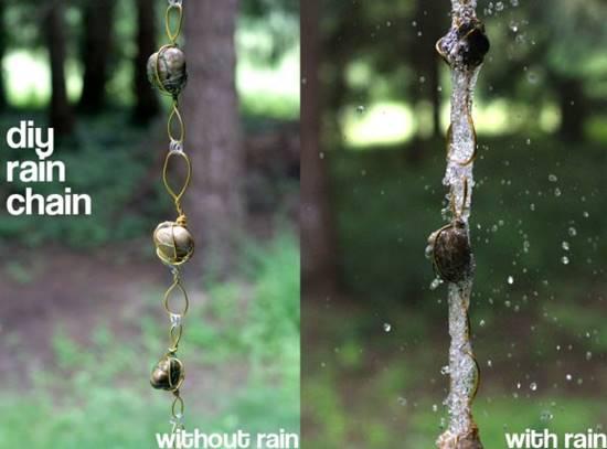 Stone Rain Chain