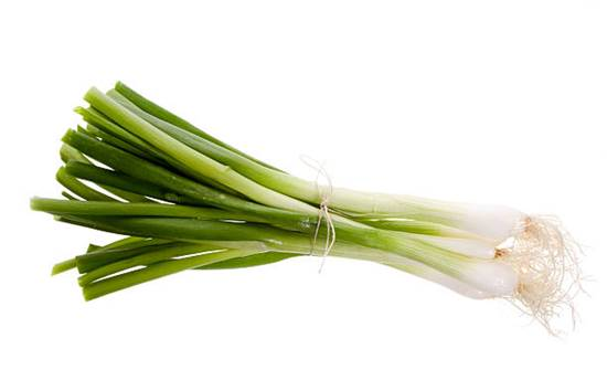 Harvested Spring Onion