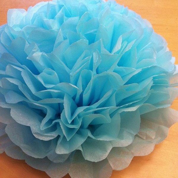 DIY Giant Mexican Paper Flower