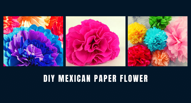 DIY Mexican Paper Flower