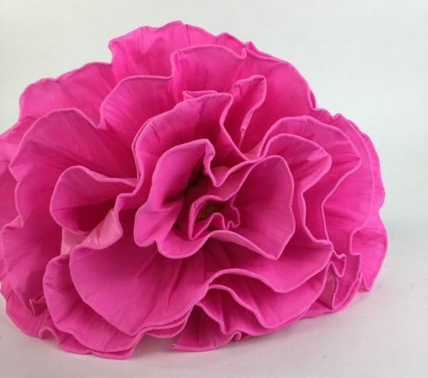 DIY Crepe Paper Mexican Flower