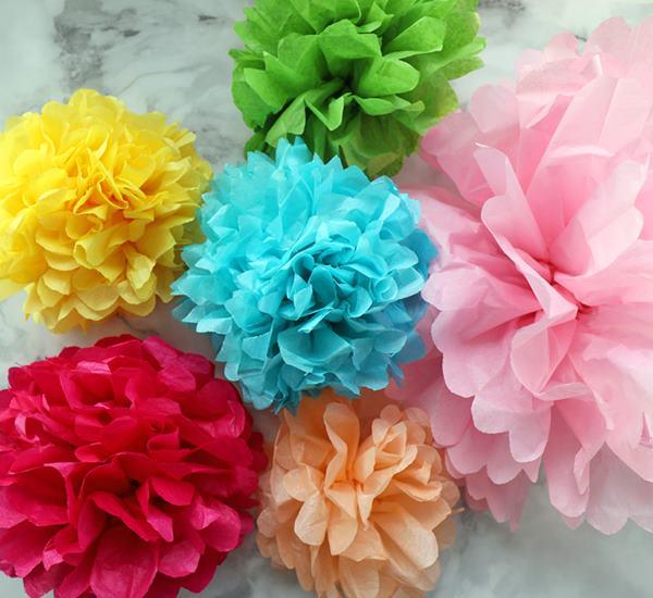 DIY Mexican Tissue Paper Flower